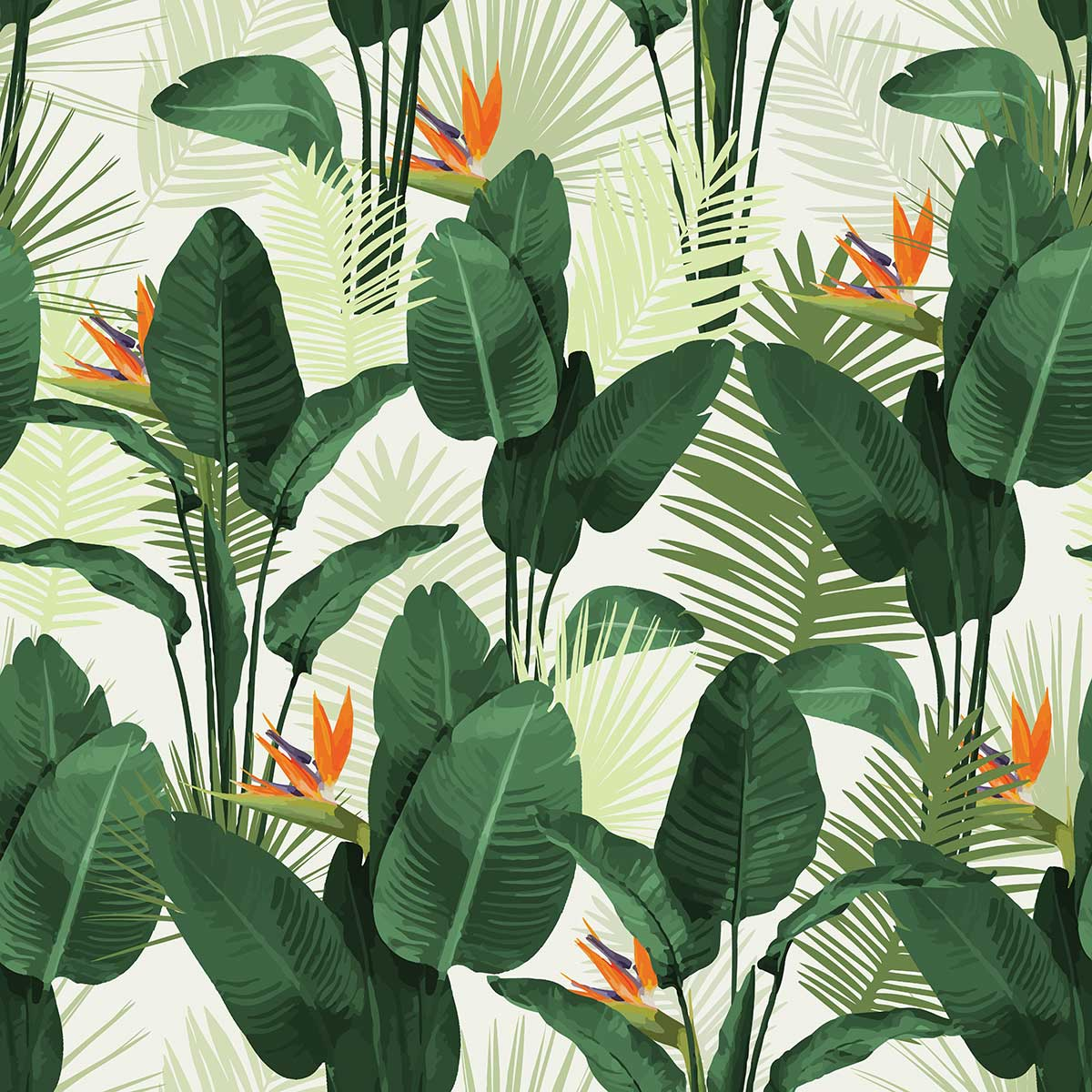 Palm Springs Paradise pattern