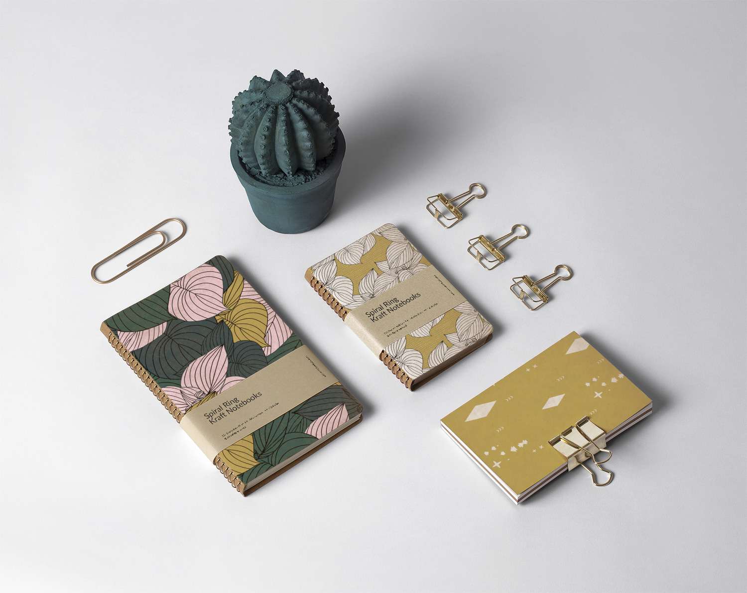 jungle summer print notebooks