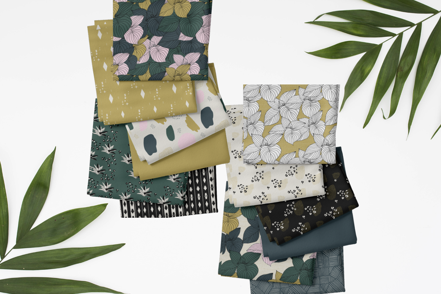 jungle summer fabric
